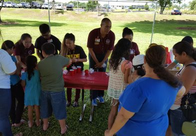 Chiefs Kapiolani Elementary School's Blue Zone Wellness Fair