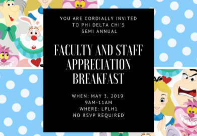 Faculty and Staff Appreciation Breakfast